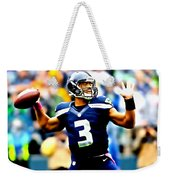 Russell Wilson Smooth Delivery Weekender Tote Bag