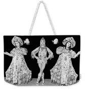 Russian Claudia Ballet Dancers Weekender Tote Bag by Underwood Archives
