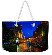 Russian Evening Weekender Tote Bag