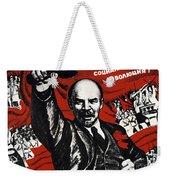 Russian Revolution October 1917 Vladimir Ilyich Lenin Ulyanov  1870 1924 Russian Revolutionary Weekender Tote Bag