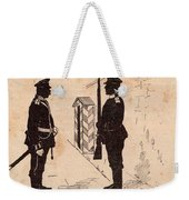 Russian Soldiers Weekender Tote Bag