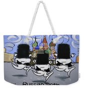 Russian Tooth Weekender Tote Bag