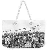 Russian Women Go To The Fields Weekender Tote Bag