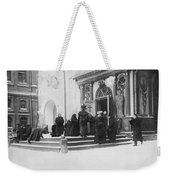 Russians Pray For Wwi Victory Weekender Tote Bag