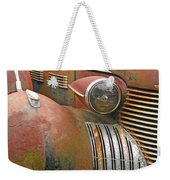 Rust ... The Other Color Weekender Tote Bag
