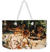 Rust And Roses Weekender Tote Bag