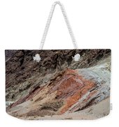 Rust Colored Formation Weekender Tote Bag