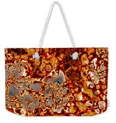 Rust-coloured Quartz Weekender Tote Bag