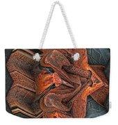 Rust Flow Weekender Tote Bag