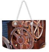 Rust Gears And Wheels Weekender Tote Bag