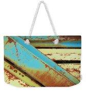 Rust N Turquoise Weekender Tote Bag