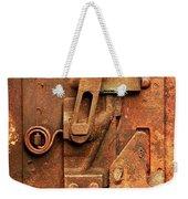 Rusted Latch Weekender Tote Bag by Jim Hughes