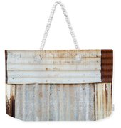 Rusted Metal Background Weekender Tote Bag