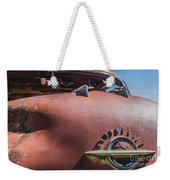 Rusted Oldsmobile Weekender Tote Bag