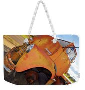 Rusted Out Chevrolet 5700 Weekender Tote Bag by Liane Wright