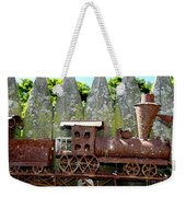 Rusted Rails Weekender Tote Bag