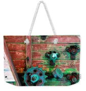 Rusted Valves Weekender Tote Bag