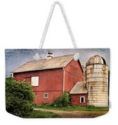 Rustic Barn Weekender Tote Bag by Bill Wakeley
