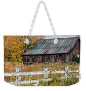 Rustic Berkshire Barn Weekender Tote Bag
