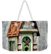 Rustic Birdhouse Weekender Tote Bag
