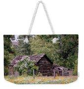 Rustic Cabin In The Mountains Weekender Tote Bag