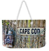 Rustic Cape Cod Weekender Tote Bag by Bill Wakeley