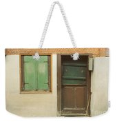 Rustic Door Weekender Tote Bag