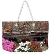Rustic Fall Weekender Tote Bag