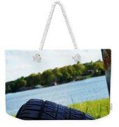 Rustic Lake Scene 1 Weekender Tote Bag