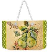 Rustic Pears On Moroccan Weekender Tote Bag