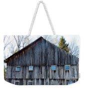 Rustic Places Weekender Tote Bag