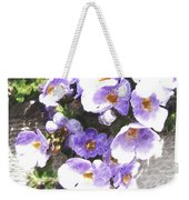 Rustic Planter Box Weekender Tote Bag by Beverly Guilliams
