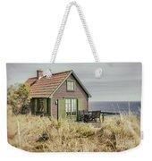 Rustic Seaside Cottage Weekender Tote Bag
