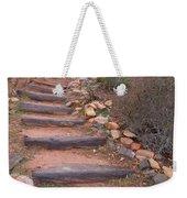 Rustic Stairway Weekender Tote Bag