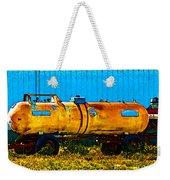 Rustic Tank Art Weekender Tote Bag