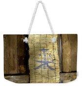 Rustic Teahouse Weekender Tote Bag