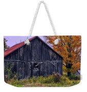 Rustic Vermont Barn Weekender Tote Bag