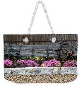 Rustic Wagon Weekender Tote Bag