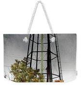 Rustic Water Tower Weekender Tote Bag