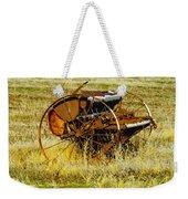 Rusting Farm Equipment Weekender Tote Bag