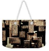 Rusty Art Weekender Tote Bag by Joan Carroll
