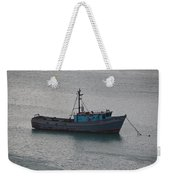 Rusty Boat Weekender Tote Bag