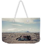 Rusty Car In Plain Weekender Tote Bag