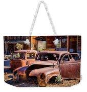 Rusty Cars  Weekender Tote Bag