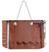 Rusty Door 1 Weekender Tote Bag