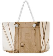 Rusty Door Weekender Tote Bag