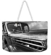 Rusty Ford 1942 Black And White Weekender Tote Bag