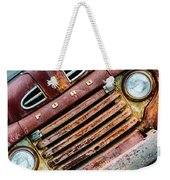 Rusty Ford Grill Weekender Tote Bag