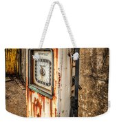 Rusty Gas Pump Weekender Tote Bag