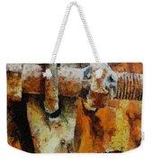 Rusty Gate Weekender Tote Bag